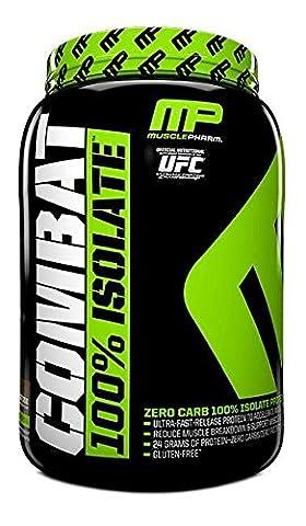 Muscle Pharm 907 g Combat 100 Percent Isolate Banana Cream Protein Powder