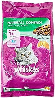 طعام القطط الجاف ويسكاس هيربول كونترول مع الدجاج والتونة، للقطط البالغين بعمر السنة فما فوق، 1.1 كغم
