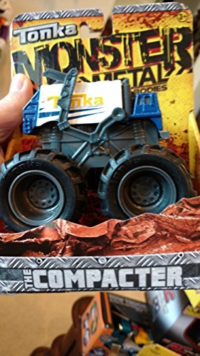 Tonka 06447 - Juguete Die Cast Monsters The Compacter
