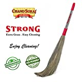 #3: Strong Eco Friendly Extra Grass Floor Broom Stick For Floor Cleaning (Phool Jhadu / Mop)
