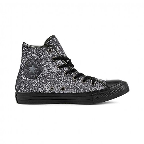 Price comparison product image Converse - Converse Scarpe Donna Nere Glitterate All Star - Black,  5.5