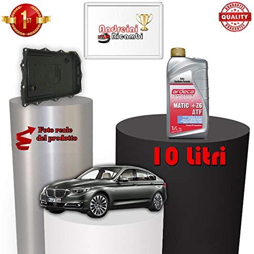 KIT FILTRO CAMBIO AUTOMATICO E OLIO SERIE 5 GT F07 535 D 230KW 2012 ->  1098