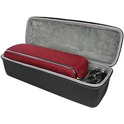 Étui de Voyage Rigide Housse Cas pour Sony SRS-XB41 Enceinte Portable sans Fil Bluetooth Waterproof par co2CREA (Noir)