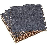 Umi. Essentials - Losas de goma entrelazadas de 30 X 30 cm (set de