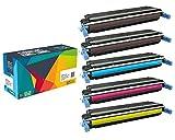 Do it Wiser ® 5 Kompatible Toner CE400A für HP 507 Laserjet Enterprise 500 Color M551 M551n M551dn M551xh MFP M570 M570dn M570dw M575 M575c M575f M575dn | CE400X CE401A CE402A CE403A