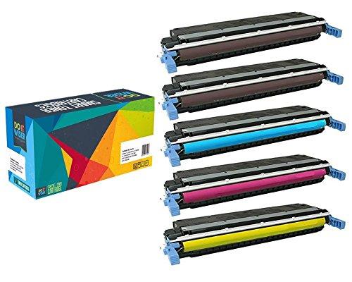 Preisvergleich Produktbild Do it Wiser ® Kompatible Tonerkartusche für HP Laserjet Enterprise 500 Color M551 M551dn MFP M575c MFP M575f M551n MFP M570dn MFP M575dn M551xh M570dw - CE400X CE400A CE401A CE402A CE403A 507A