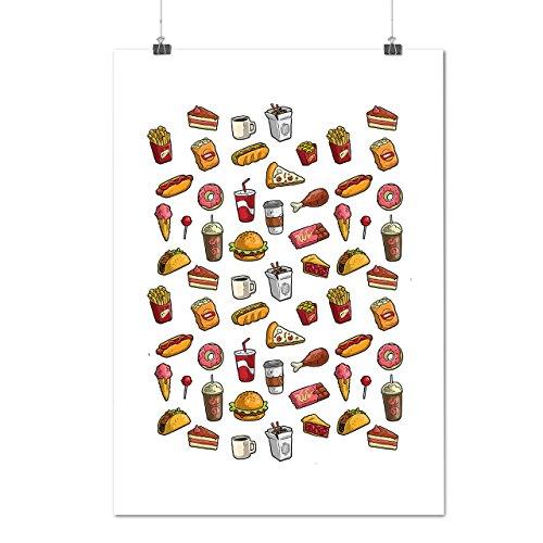 snack-collection-art-food-joy-matte-glossy-poster-a1-84cm-x-60cm-wellcoda