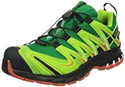 Salomon 366792, men's trainer green 40 EU