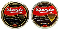 Dazlo® Shoe Wax Polish Black - 160g (4x40g) - Export Quality