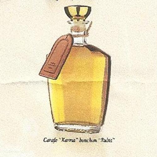 cognac 35 ans d'age en carafe karma 70cl presente en coffret louis roque