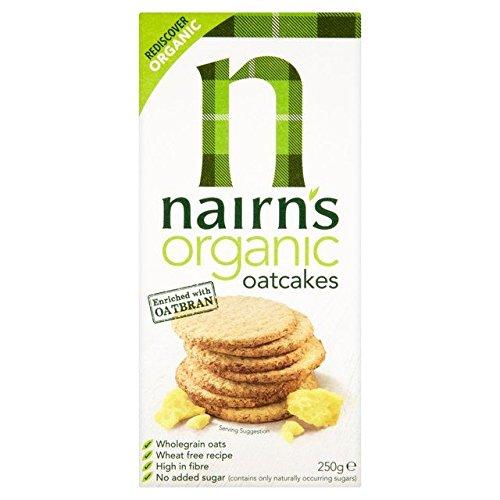 Nairn's Organico Torte Avena 250g (Confezione da 2)