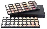 Pure Vie 72 Colori Palette Ombretti Cosmetico Tavolozza per Trucco Occhi - Adattabile a Uso Professionale che Privato