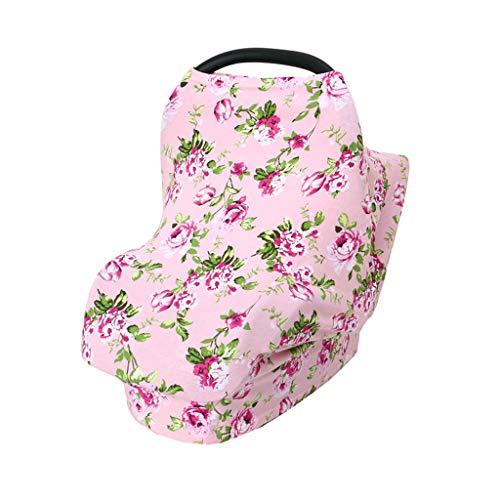 Hahuha Kinderbekleidung,Baby Stretchy Privatsphäre Stillen Stillen Cover Multi Use Autositz Baldachin