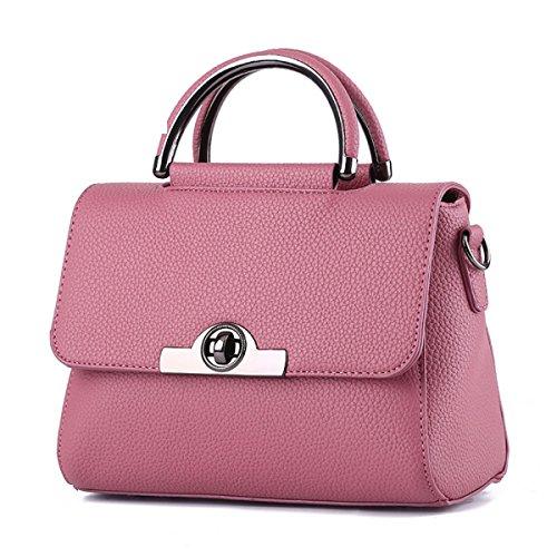 QPALZM Frauen PU-Leder Schultertasche Schicke Tasche Damen Handtaschen 38 8 Unzen (OZ) A2