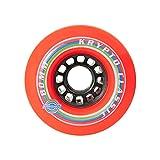 Kryptonics LBOARD Classic–Reifen, Rot, 80mm (1Stück)