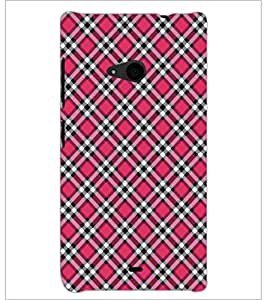PrintDhaba Pattern D-5277 Back Case Cover for MICROSOFT LUMIA 535 (Multi-Coloured)