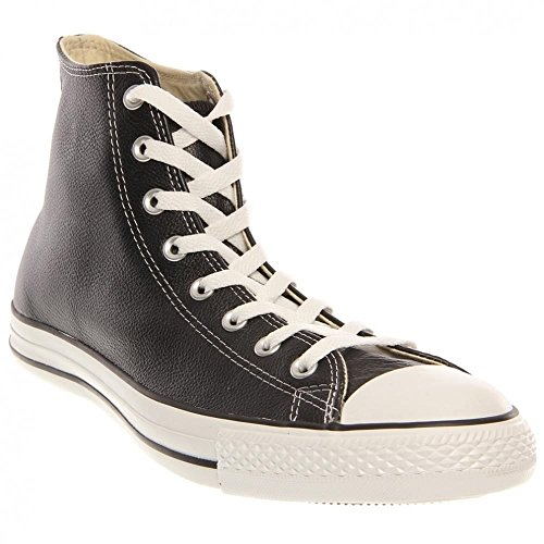 Converse  Leather All Star,  Sneaker unisex adulto Black