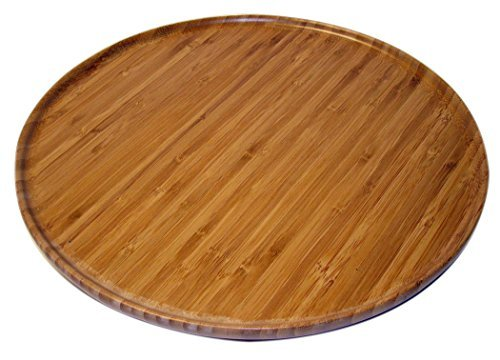 Kitchen Elements Bamboo Lazy Susan Tray, 14-Inch by Kitchen Elements Bamboo Lazy Susan