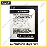 Voopick® Battery for Panasonic Eluga Prim [Model: DWSP2500EPR] 2500mAh Capacity