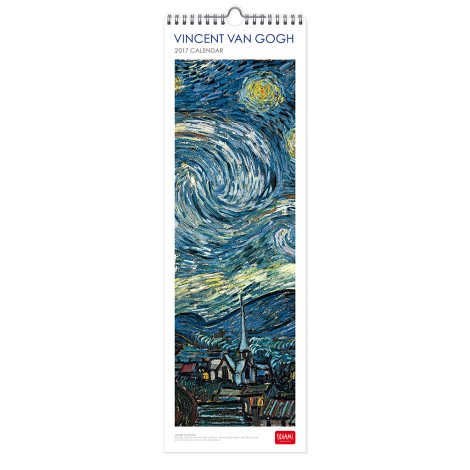 legami 16x 49cm'4stagioni 2017calendar-p Vincent Van Gogh