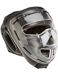 Ju-Sports Kopfschutz Shield - Casco de artes marciales, color negro, talla L