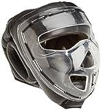 Ju-Sports Kopfschutz Shield - Casco de Artes Marciales, Color Negro, Talla...