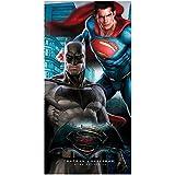Batman vs Superman Kinder Handtuch - Badetuch & Strandtuch 70 x 140cm originale Lizenzartikel