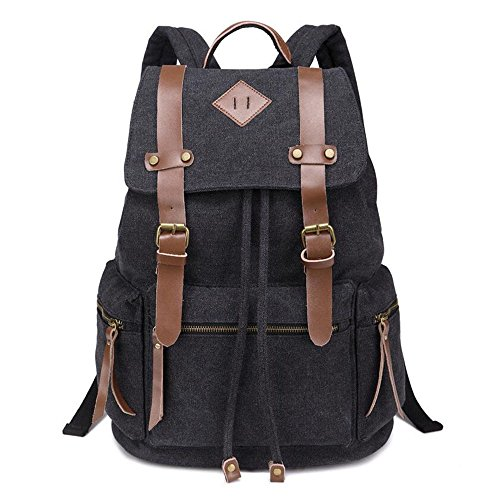 ANNE-Travel-Backpack-for-Womens-and-Mens-New-Canvas-Shoulder-Bag