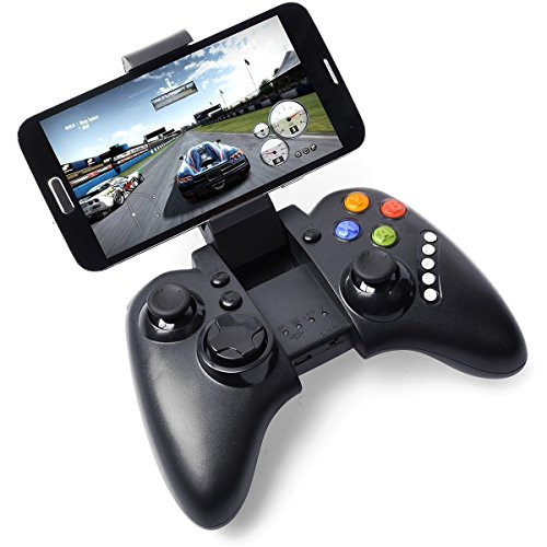 PG Rechargeable Wireless Multimedia Bluetooth Game Controller Gamepad Joystick for Android HTC Sony Note 2 3 S5 G900 HTC M8 IP102 (F1 2013 Xbox 360)