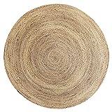 QU HUAI DONG SSS Teppich, handgewebte Wohnzimmer Couchtisch Freizeitbereich Bettdecke Runde Pad Startseite Rutschfeste Teppich (größe : 2m)