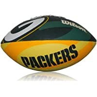 Wilson Football NFL Greenbay Logo, Grün/Gelb, Junior, WL0206173640