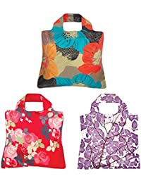 Envirosax Vibrant Paradise Reusable Shopping Bags (Set Of 3)