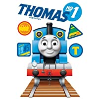 Thomas The Tank Engine - SAMTHOMAS - Large MAXI Wall Stickers Stikarounds