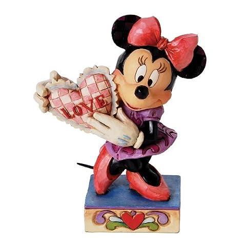 Disney Traditions 4026085 Figurine Ma Valentine Minnie Résine 12 cm