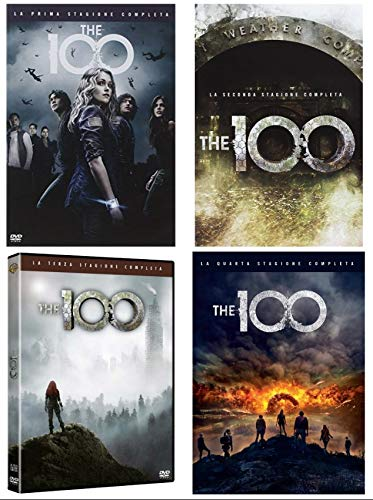 THE 100 - STAGIONI DA 1 A 4 (14 DVD) COFANETTI SINGOLI, ITALIANI