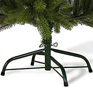 weihnachtsbaum k nstlich 140 cm 470 spitzen mit st nder tannenbaum christbaum. Black Bedroom Furniture Sets. Home Design Ideas