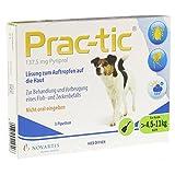Prac Tic F.Kleine Hunde 4,5-11 Kg Einzeldosispip, 3 St