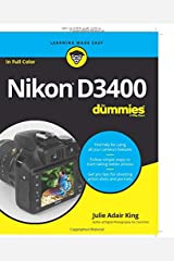 Nikon D3400 For Dummies (For Dummies (Lifestyle)) Paperback