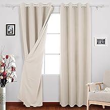 suchergebnis auf amazon.de für: gardinen wohnzimmer modern - Vorhange Wohnzimmer Weis