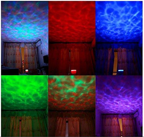 MJEL Ozean Herde Projektor Night Light Unglaubliche Master Lampe LED bunt für Kinder Zimmer Haus & Dekoration - Home Decor Traditionellen Tisch-lampe