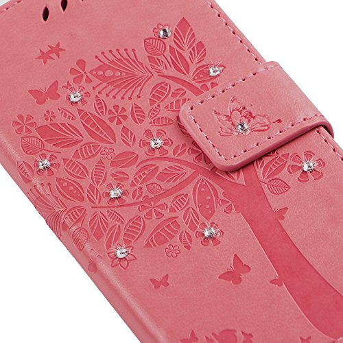 iPhone 8 Plus / 7 Plus 5.5 Pouce Coque,iPhone 8 Plus Coque Portefeuille PU Cuir Etui,iPhone 7 Plus Coque Silicone,iPhone 8 / 7 Plus Leather Case Wallet Flip Protective Cover Protector,iPhone 7 Plus Co Bling Wishing Tree 2