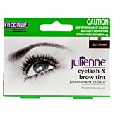 Julienne, Tinta permanente per ciglia/sopracciglia, Dark Brown 03, 15 ml