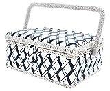Juvale cesta organizer per aghi, spilli, metro a nastro, ditali e di più