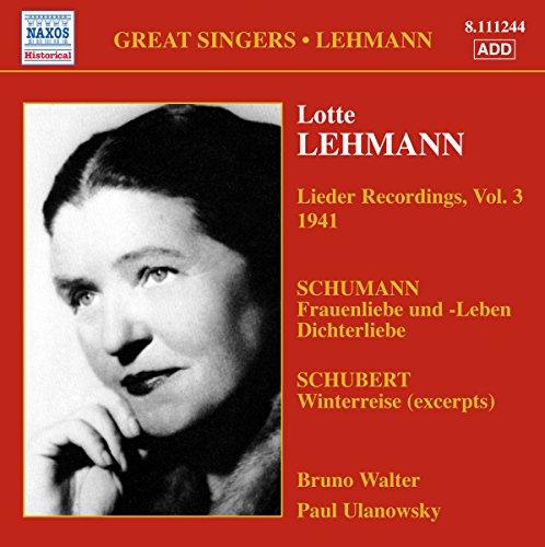 Lieder (Volume 3)