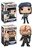 Funko POP! Resident Evil: Jill Valentine 155 +The Nemesis 157 - Vinyl Figure NEW