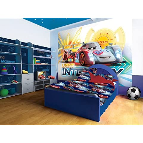 Disney Pixar Cars luz Intensity diseño de Graffiti, XL - 208cm x 146cm (WxH)