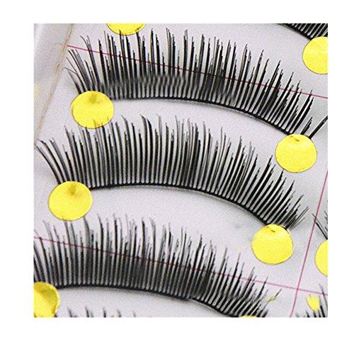 Générique 10 Paires Faux Cils Naturels Epais Volumineux Cils Maquillage Pour Les Yeux #560