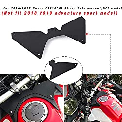 Motorrad Forkshield Updraft Luftstrom Deflector Helm Visier Anti-Shake für 2016-2019 H-o-n-d-a CRF1000L Africa Twin