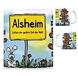 trendaffe® - Alsheim Rheinhessen - Einfach die geilste Stadt der Welt Kaffeebecher
