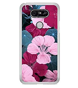 Flowers 2D Hard Polycarbonate Designer Back Case Cover for LG G5 :: LG G5 Dual H860N :: LG G5 Speed H858 H850 VS987 H820 LS992 H830 US992